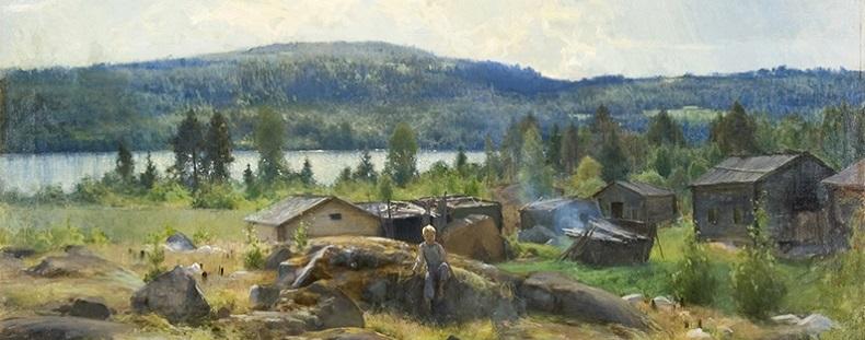 Eero Järnefelt, Heinäkuun päivä, Hämeenlinnan taidemuseo
