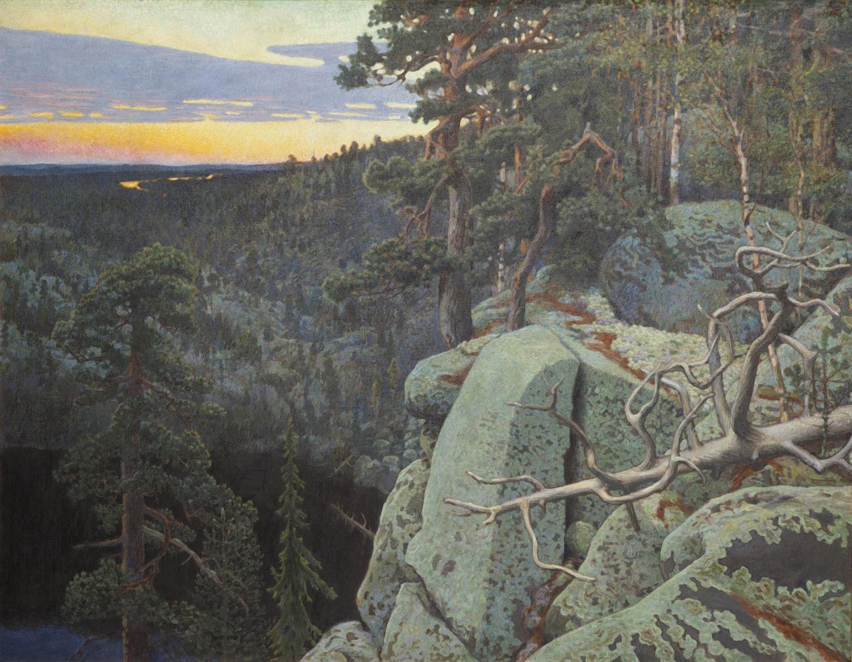 Akseli Gallen-Kallela, Toriseva, 1898, Gösta Serlachiuksen taidesäätiö, Serlachius-museot, Mänttä, kuva Studio Tomi Aho